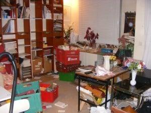 Débarras de maison à sceaux: salon débarrassé